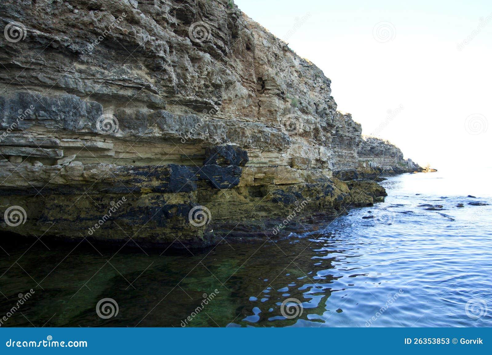 Höga rocks ashore