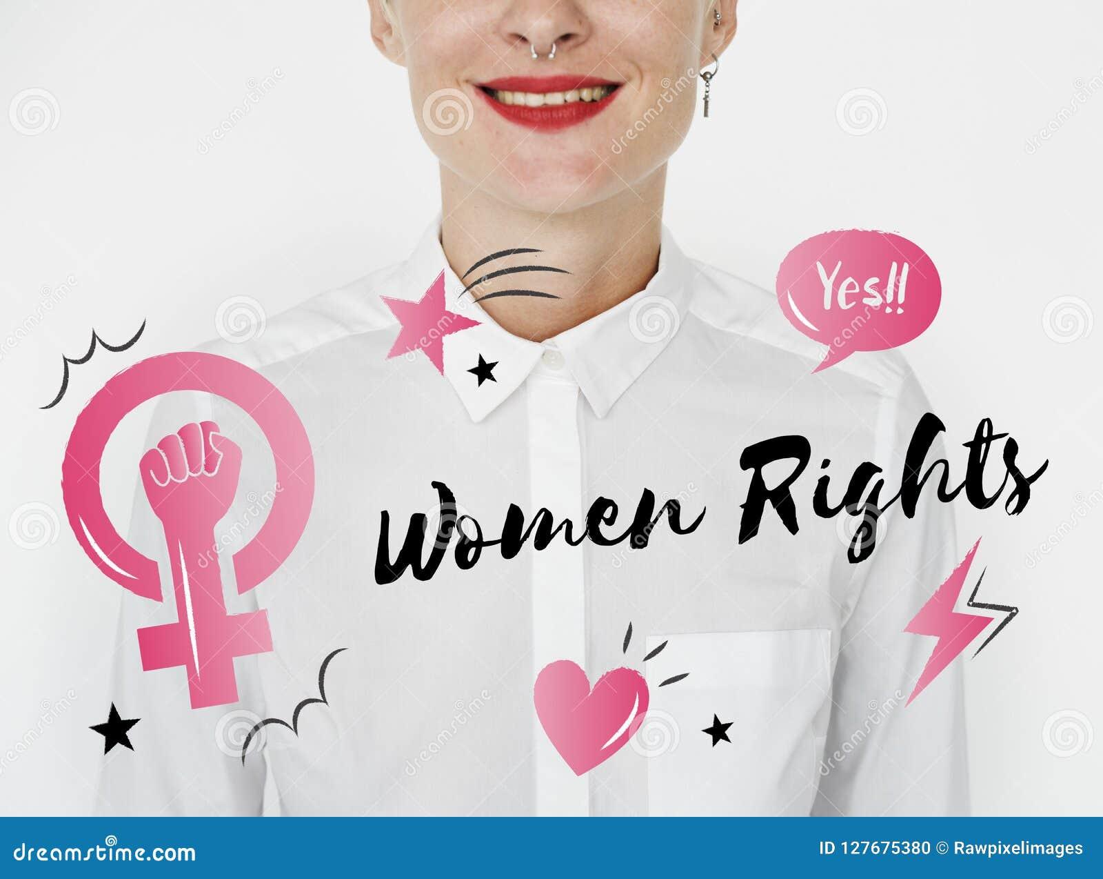 Högra kvinnor för feminismjämställdhetförtroende