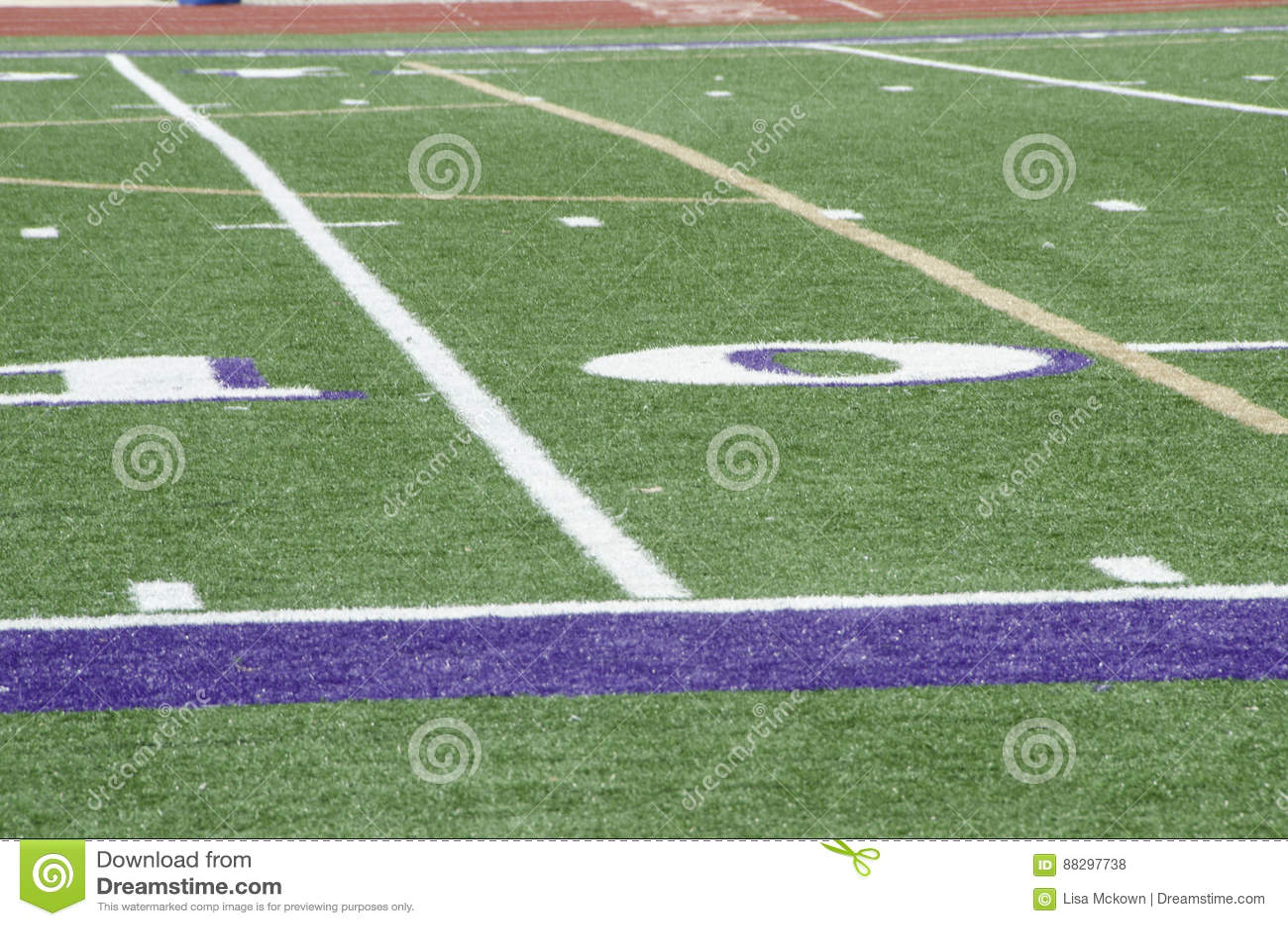 Högstadiumfotbollfält