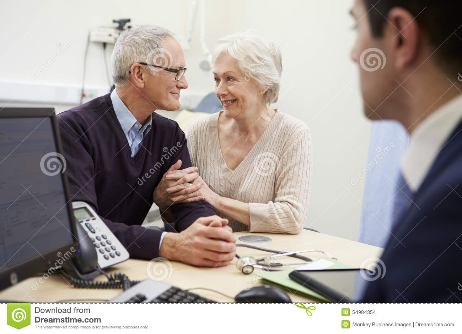 Högt parmöte med konsulenten In Hospital