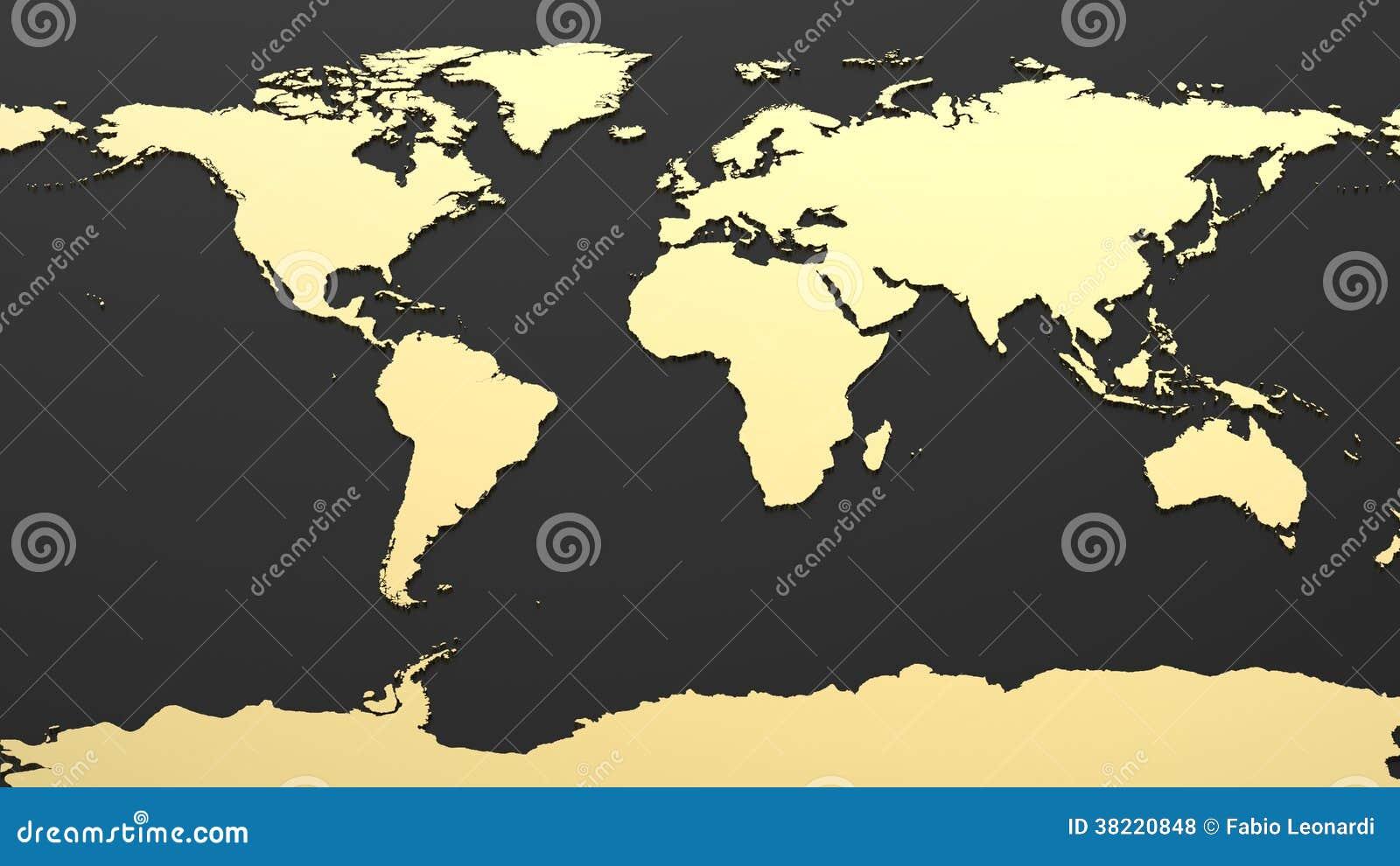 Högteknologisk världskarta