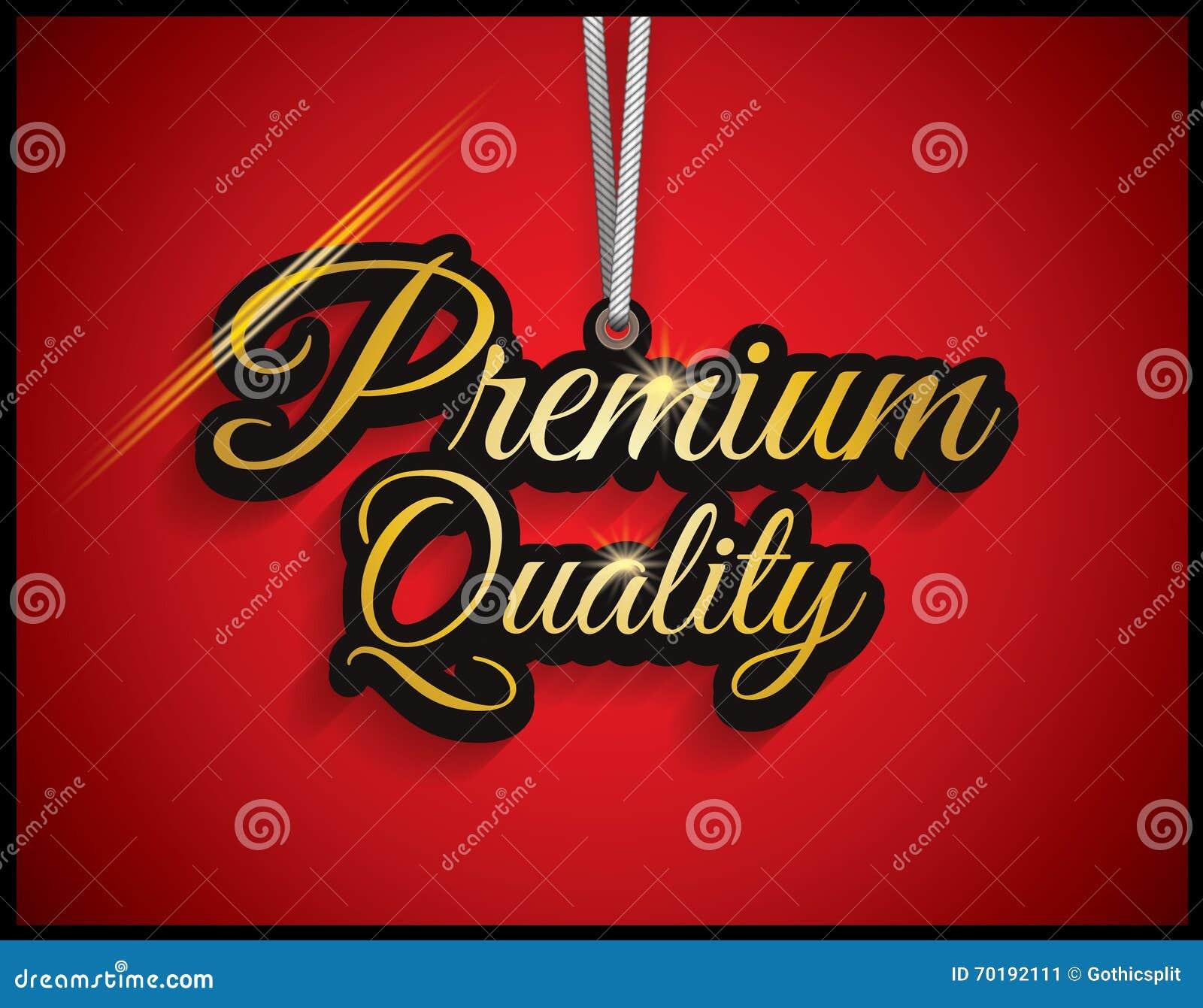 Högvärdig kvalitet