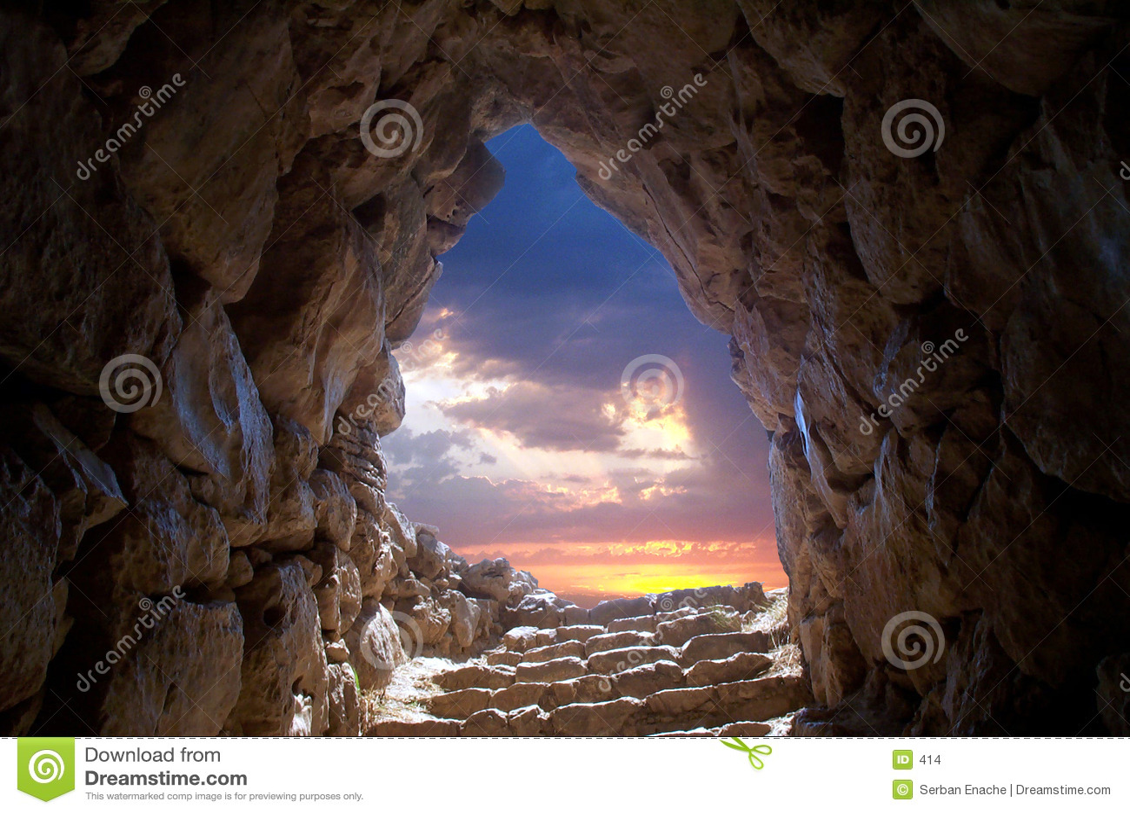 Höhle bei Mycenae