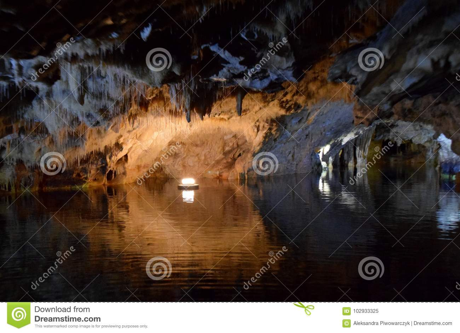 Höhle von Diros, Griechenland
