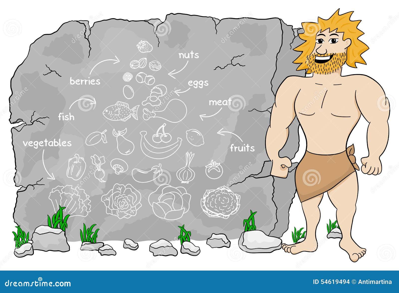 Die Diät des Höhlenmenschen