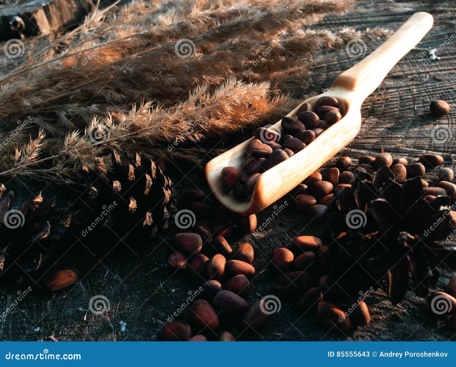 Hölzerne Schaufel, die Holzarbeit kocht
