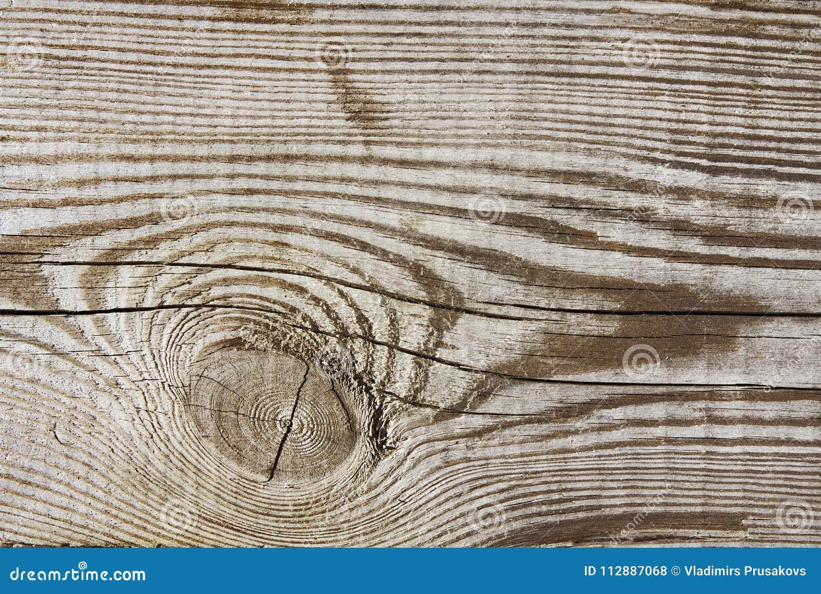Hölzerner Beschaffenheitsplankenkorn-Bauholzhintergrund, hölzerner Schreibtischknoten