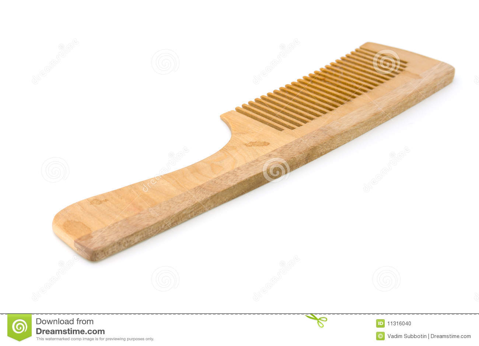 Hölzerner Hairbrush