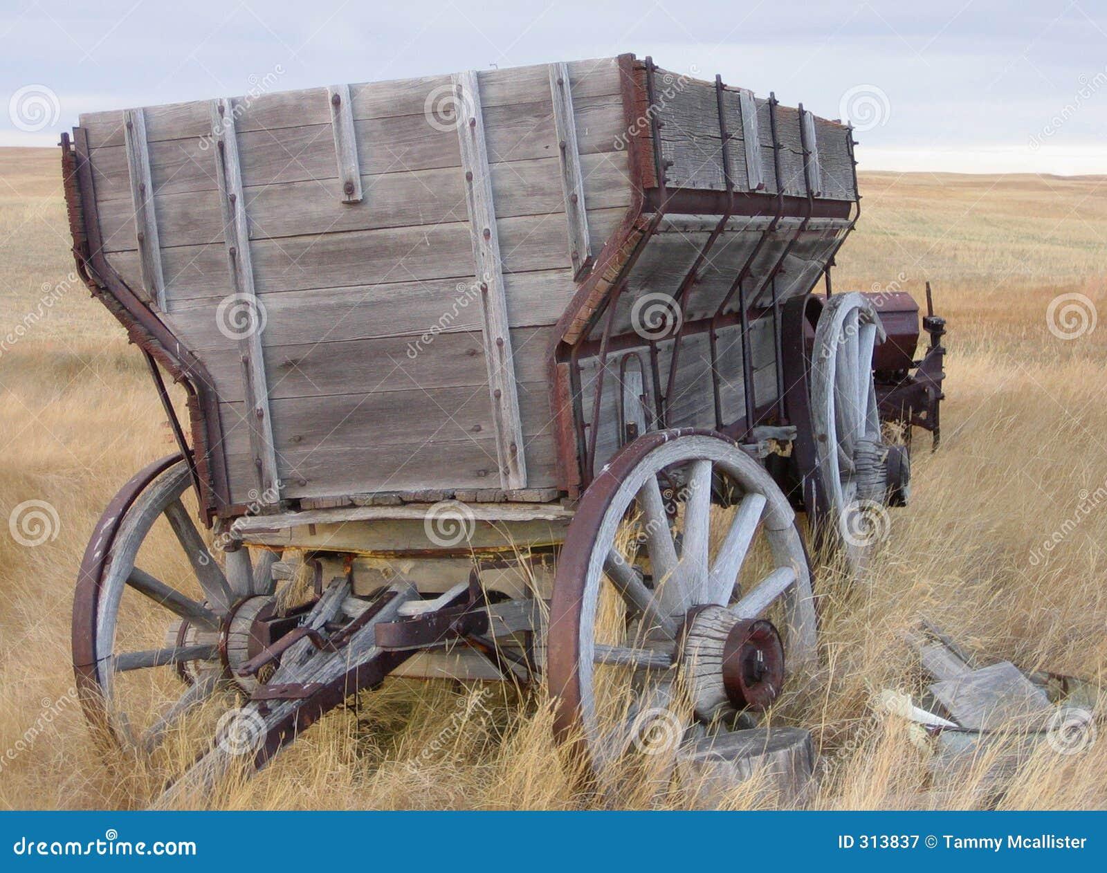 Hölzerner Lastwagen