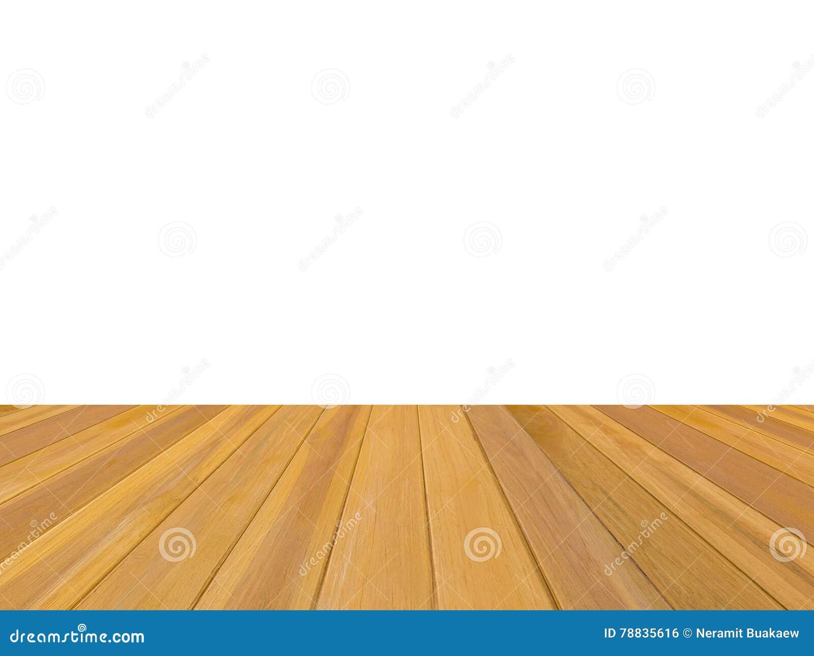 Hölzerner Teakholzboden Lokalisiert Auf Weißem Hintergrund Stockfoto ...
