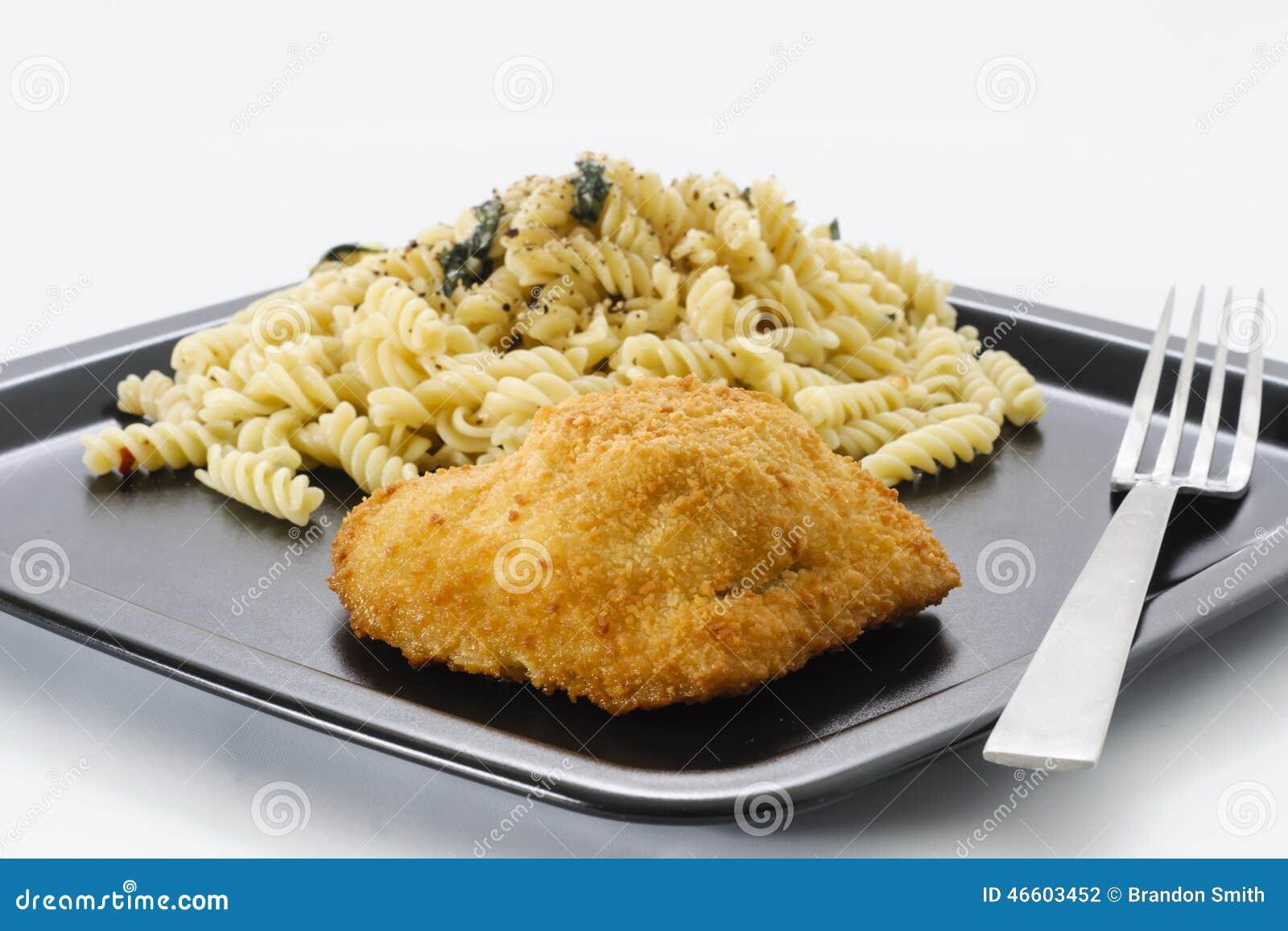 Höna och pasta