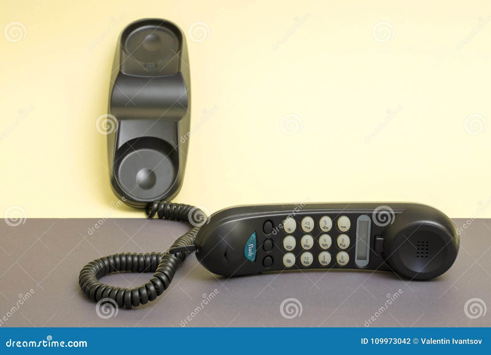 Hörer und örtlich festgelegtes Telefon mit dem Tonwählen