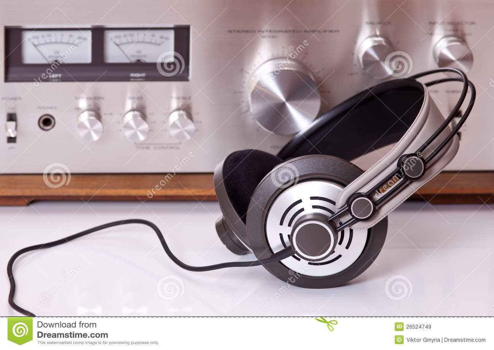 Hörlurar förbindelse till tappningaudiostereo