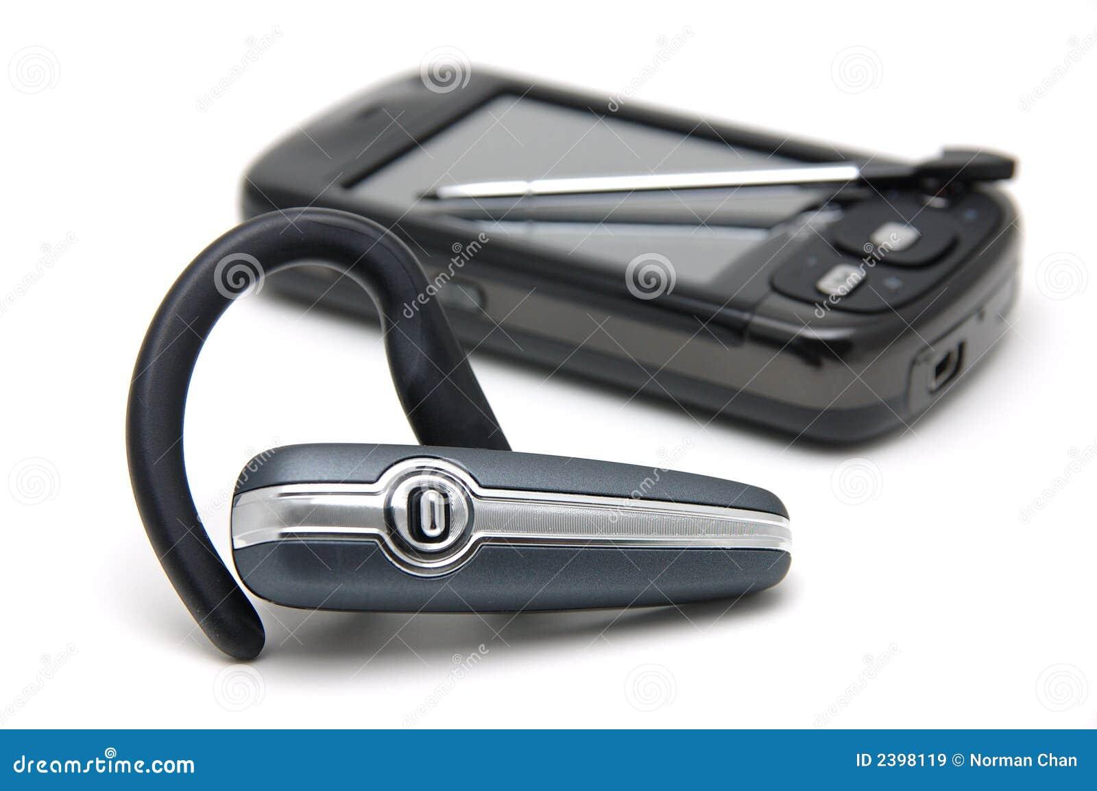 Hörlurar med mikrofonpdatelefon
