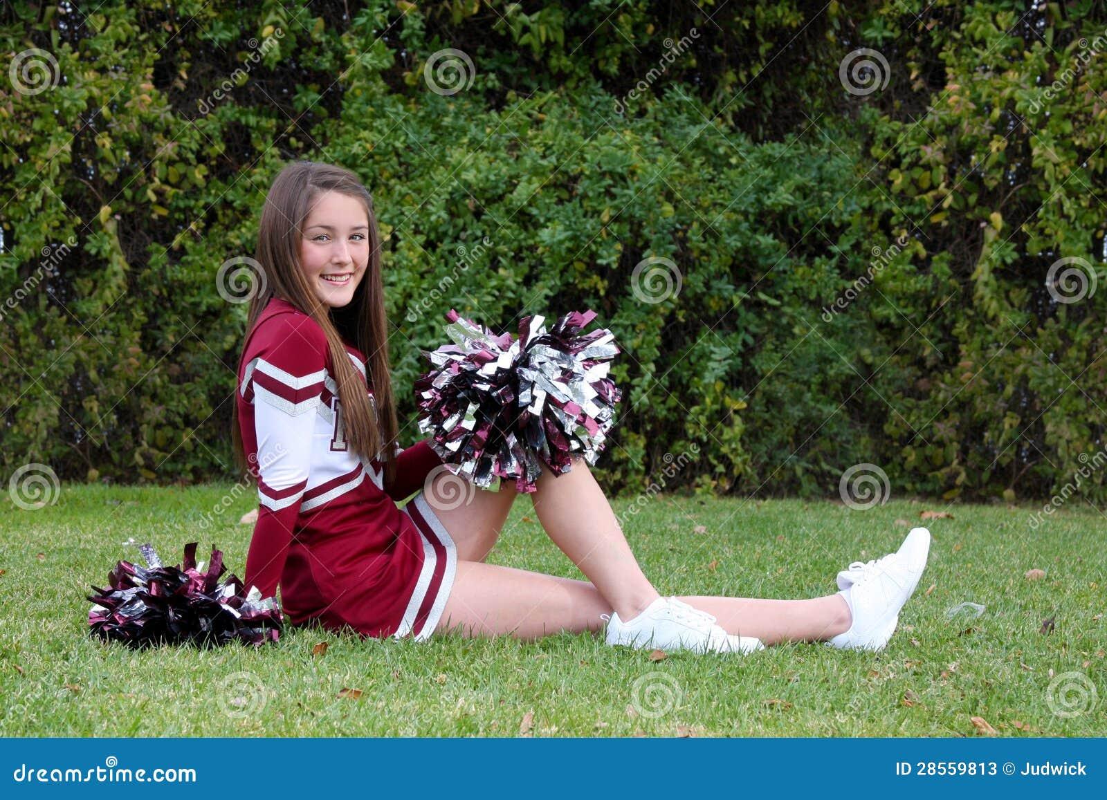 h bsche cheerleader stockfotos bild 28559813. Black Bedroom Furniture Sets. Home Design Ideas