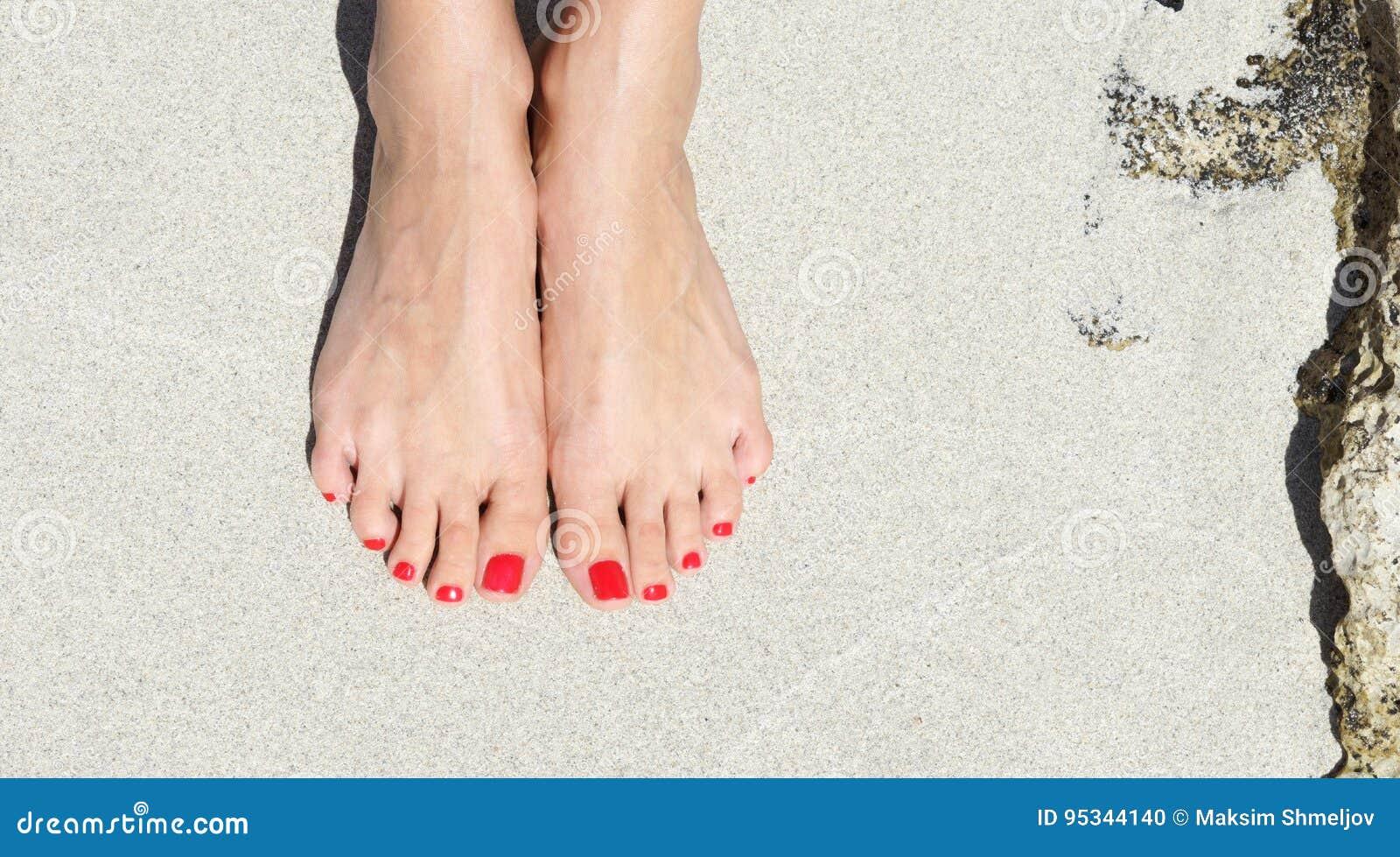 Hübsche füße