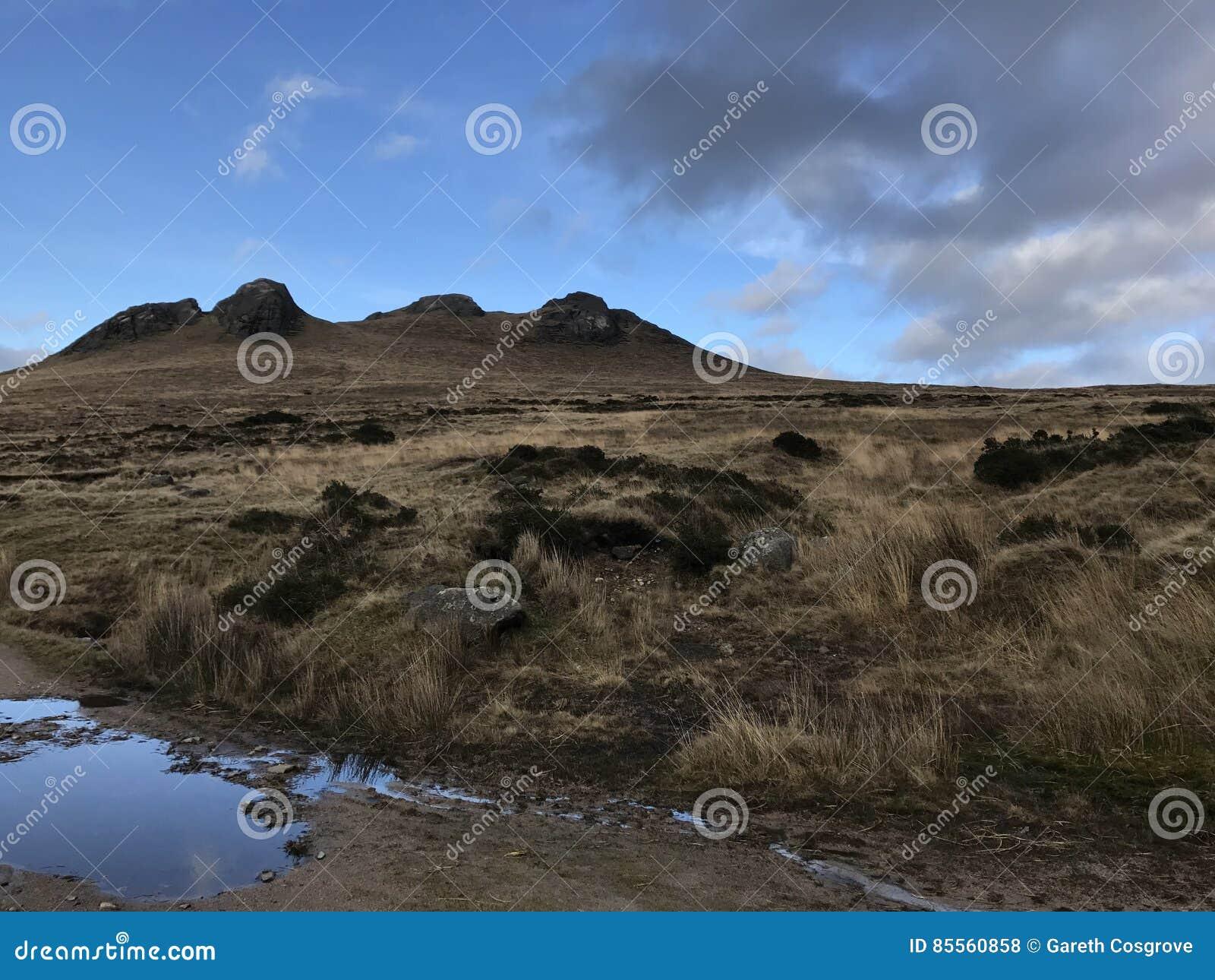 Hügelige Landschaft in Nordirland