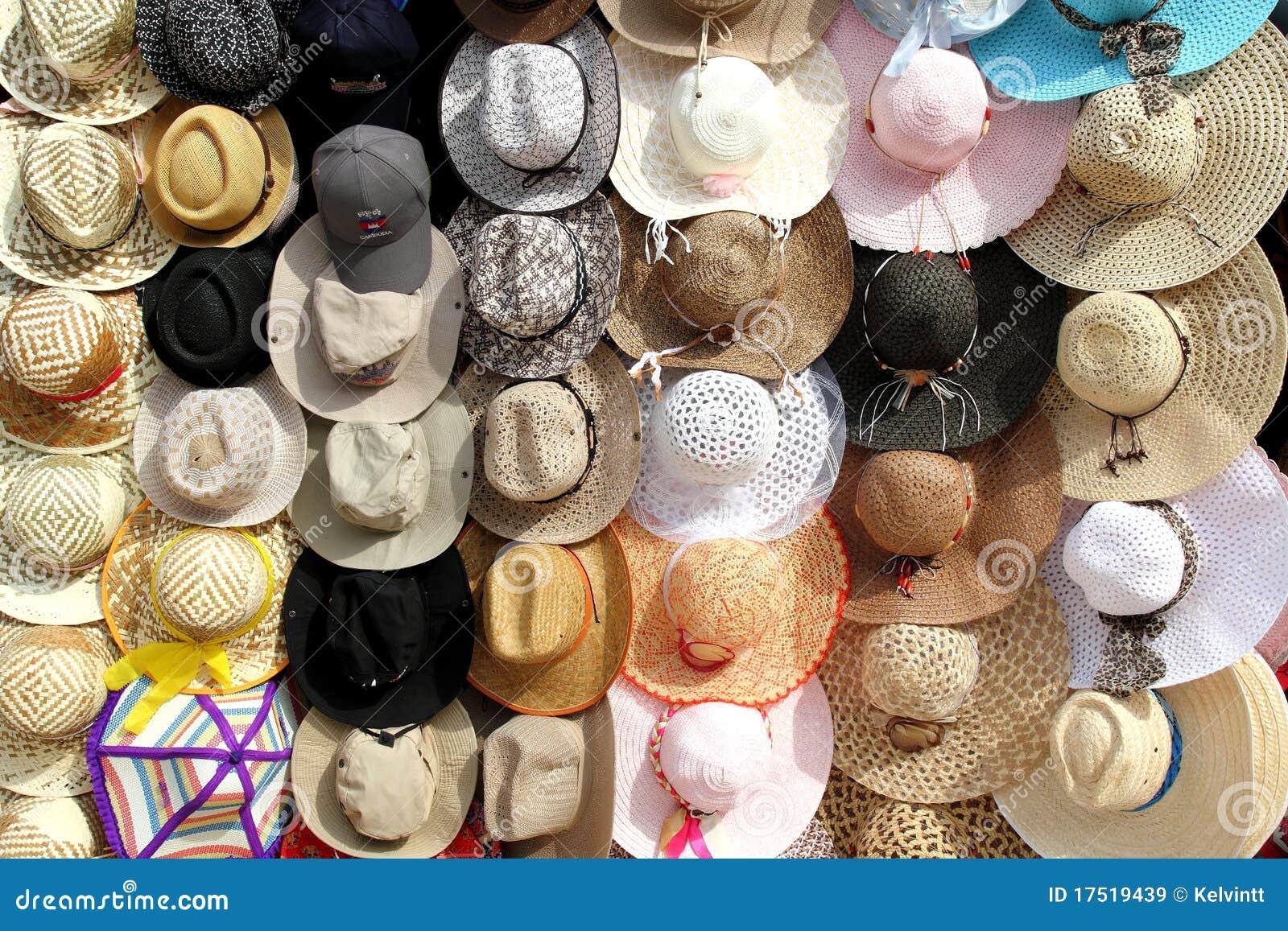 Hüte für Verkauf