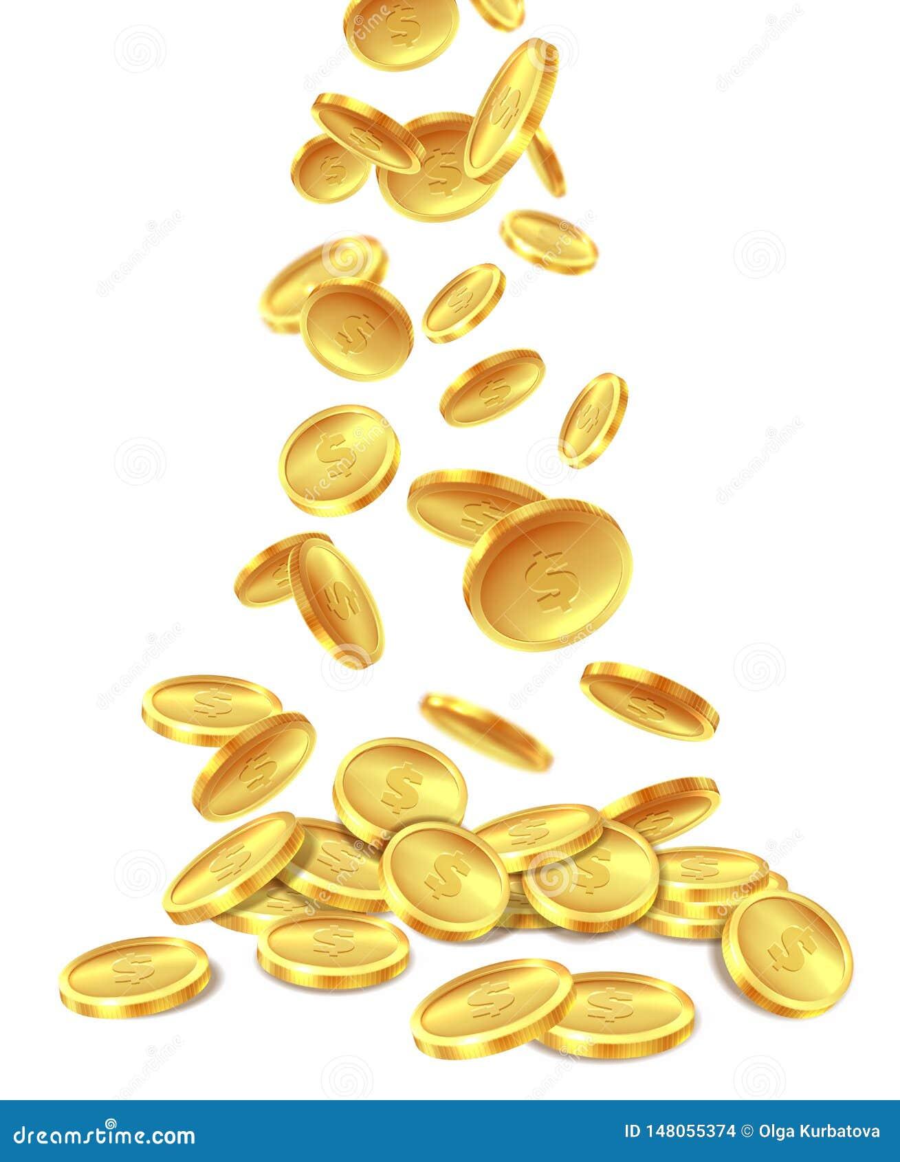 H?g f?r guld- mynt E r