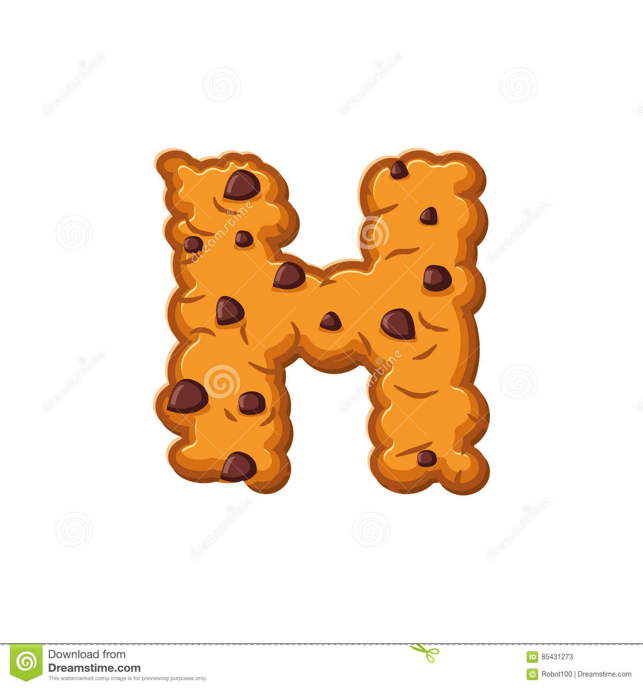 H letter cookies cookie font oatmeal biscuit alphabet for Cookie letter press