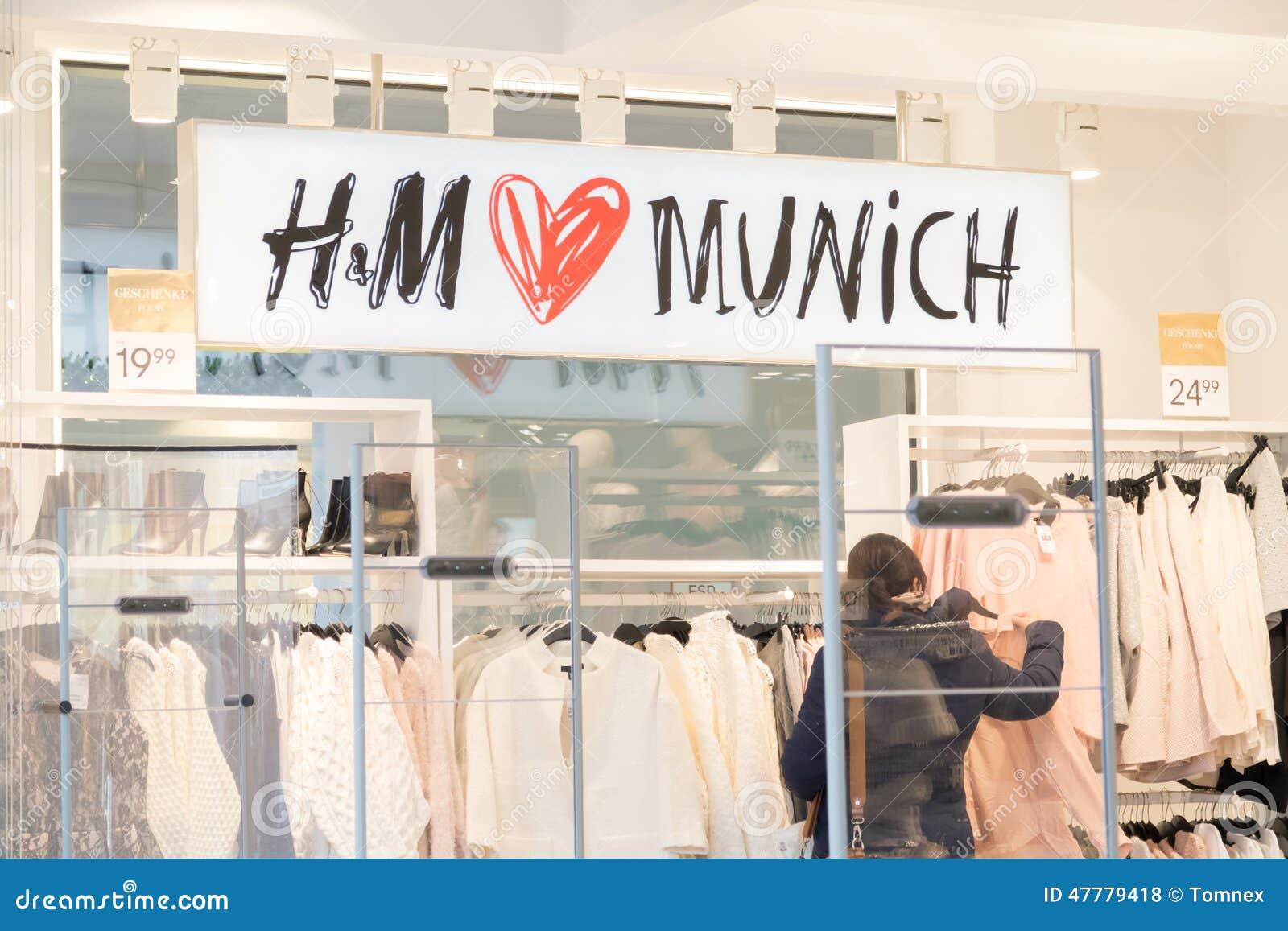 Hm München Redaktionelles Stockfoto Bild Von System 47779418