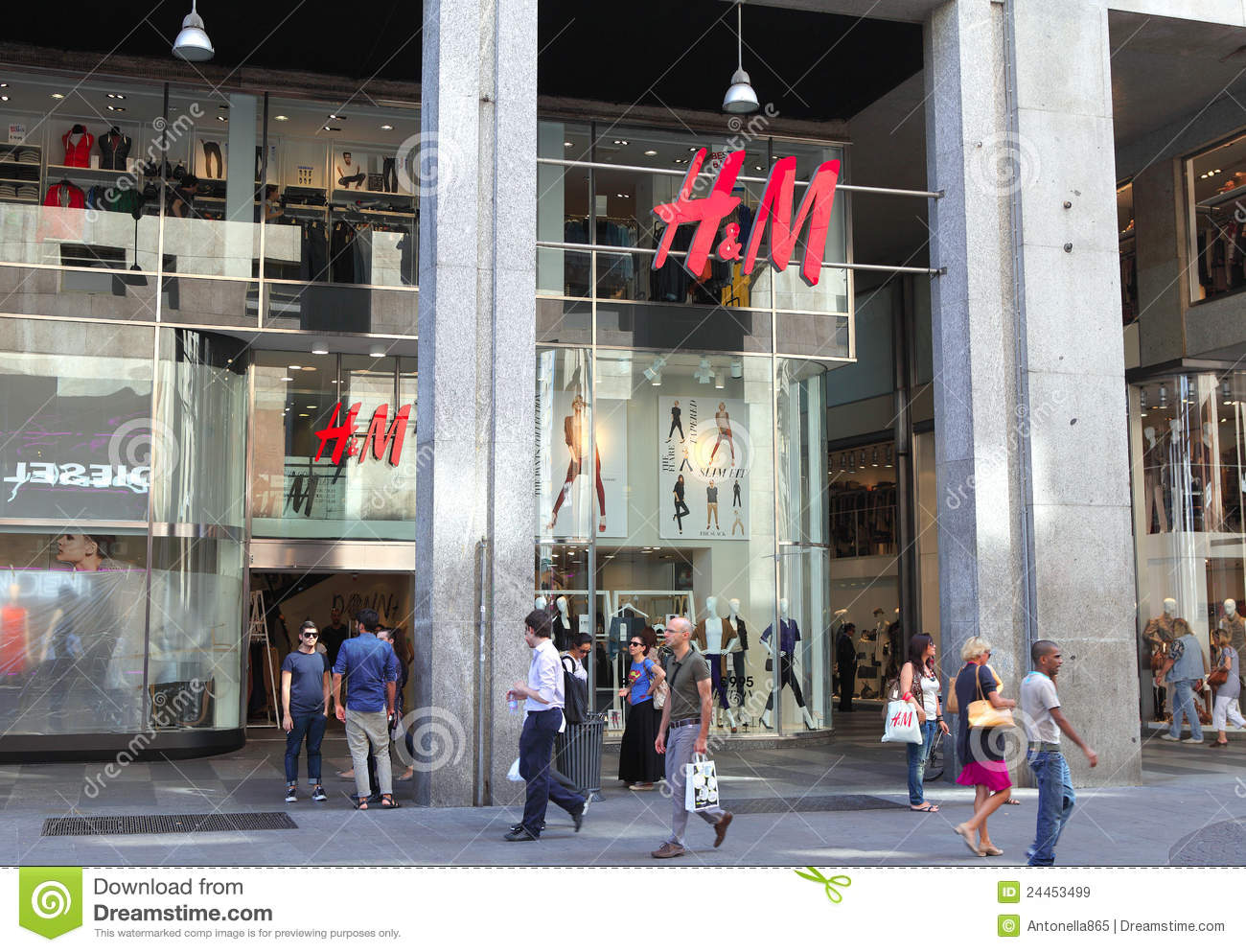 Hennes & Mauritz AB (H&M) designs and retails fashions for women, men, teens, and children. The Company sells a variety trendy, sporty, and classic garments in addition to accessories such as.
