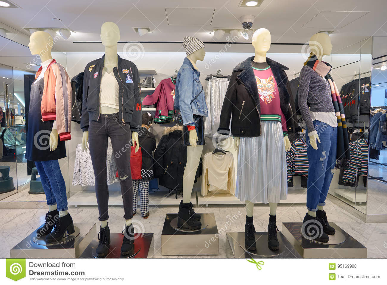 eb05e0396a0 H   M store editorial stock photo. Image of clothes