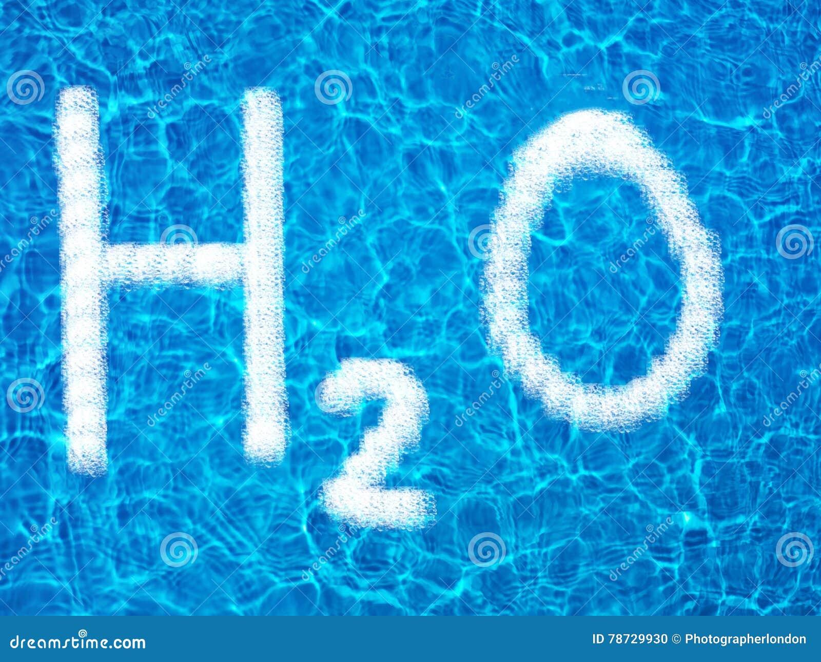 H2O på vatten