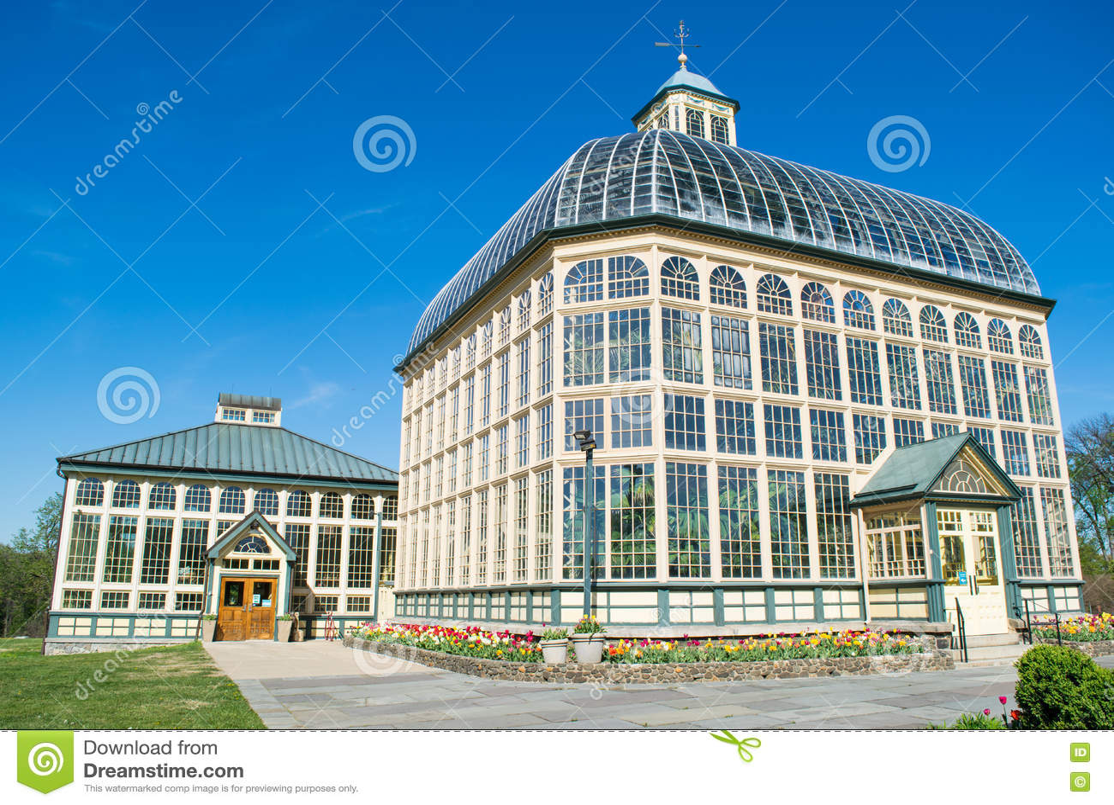 H P Консерватория Rawlings и ботанические сады в равенстве холма друида