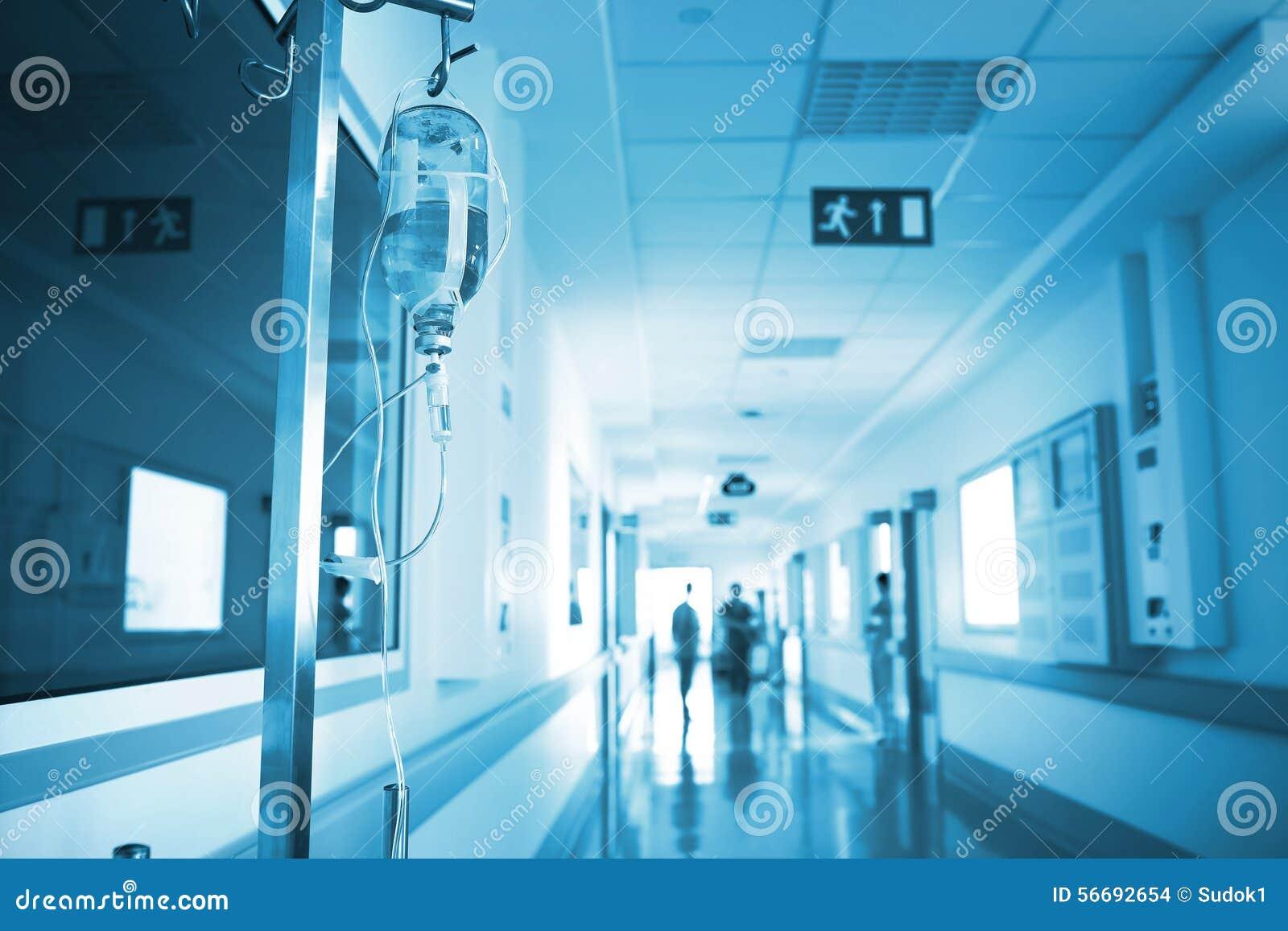 Hôpital avec les yeux de patient