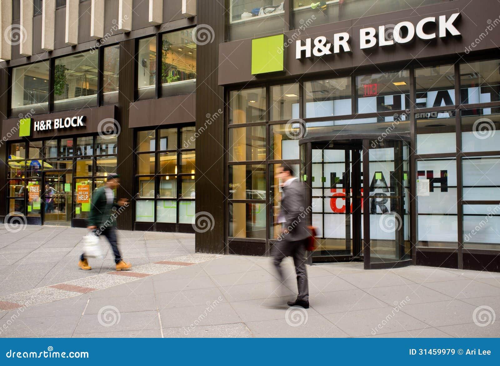 H&r block stock options