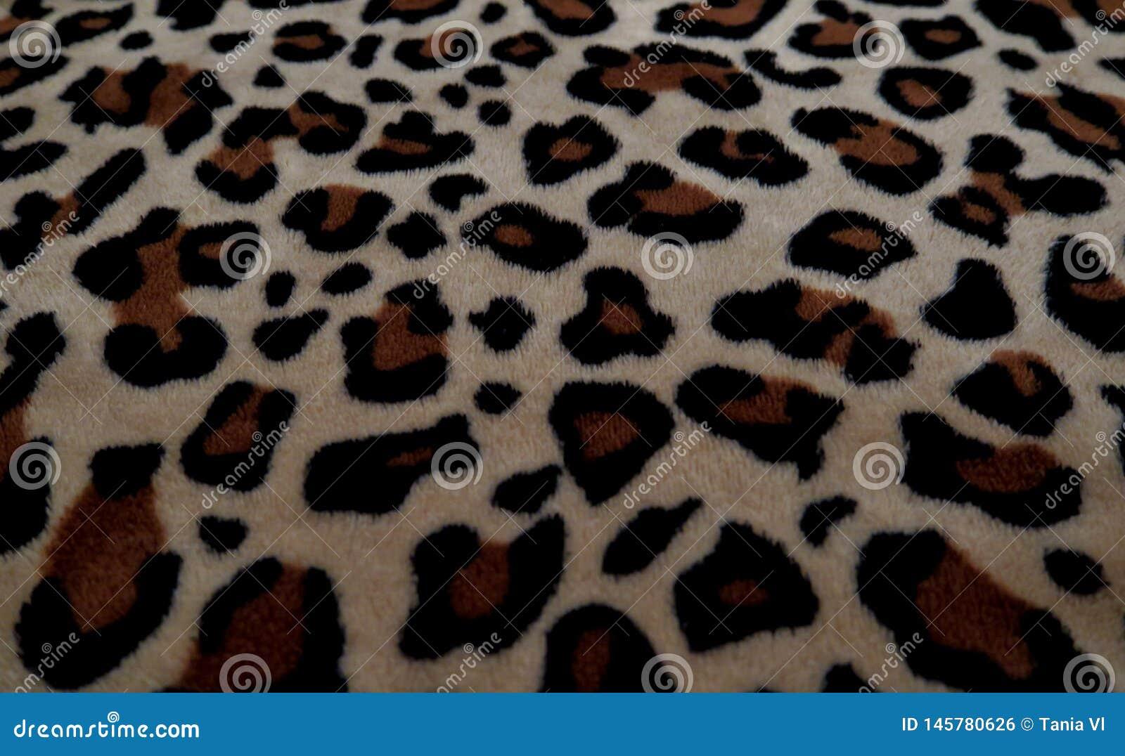 H?rlig bakgrund med p?ls med leopardf?rgl?ggning