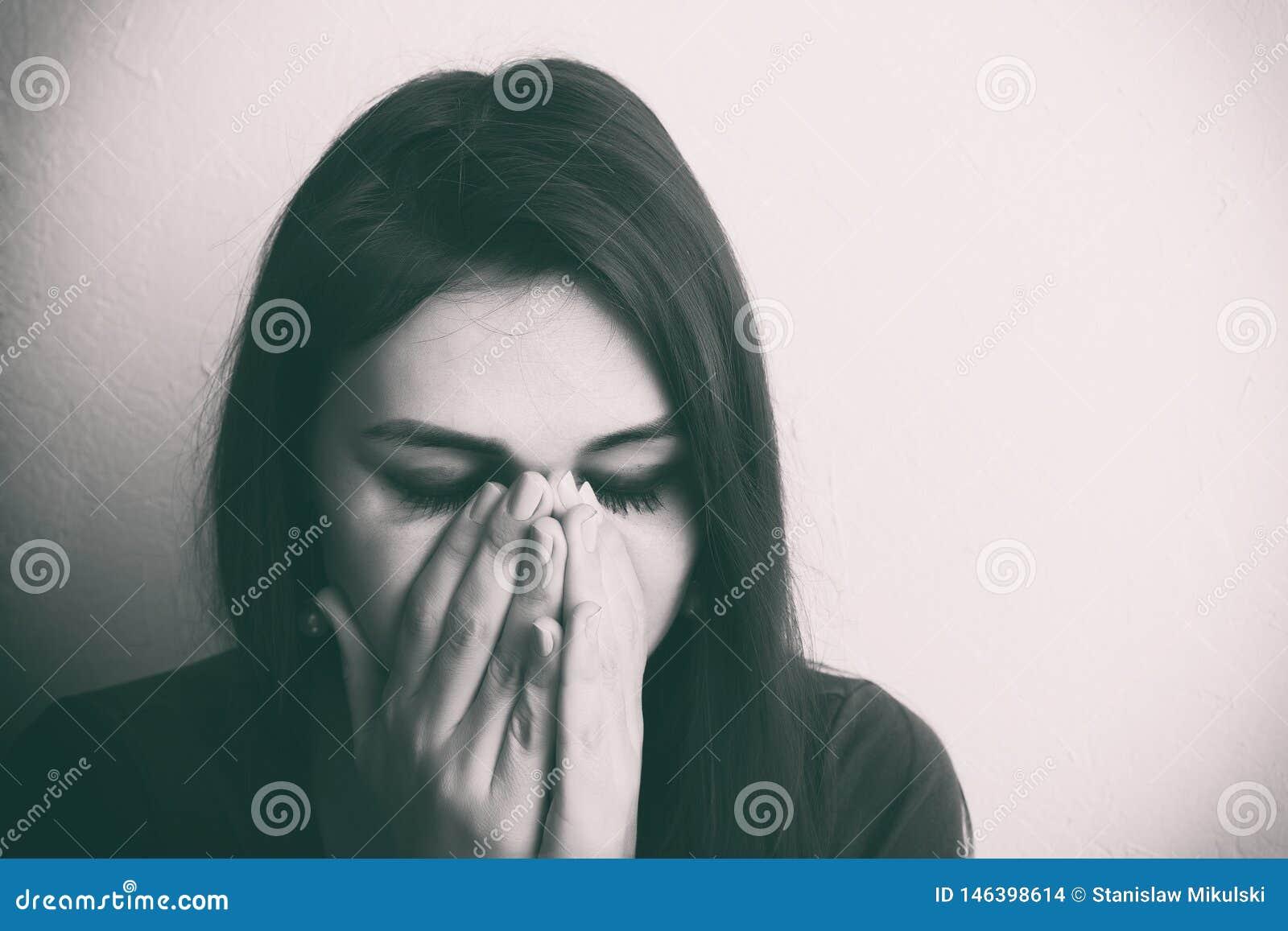 H?rlig skriande flicka Beijing, China