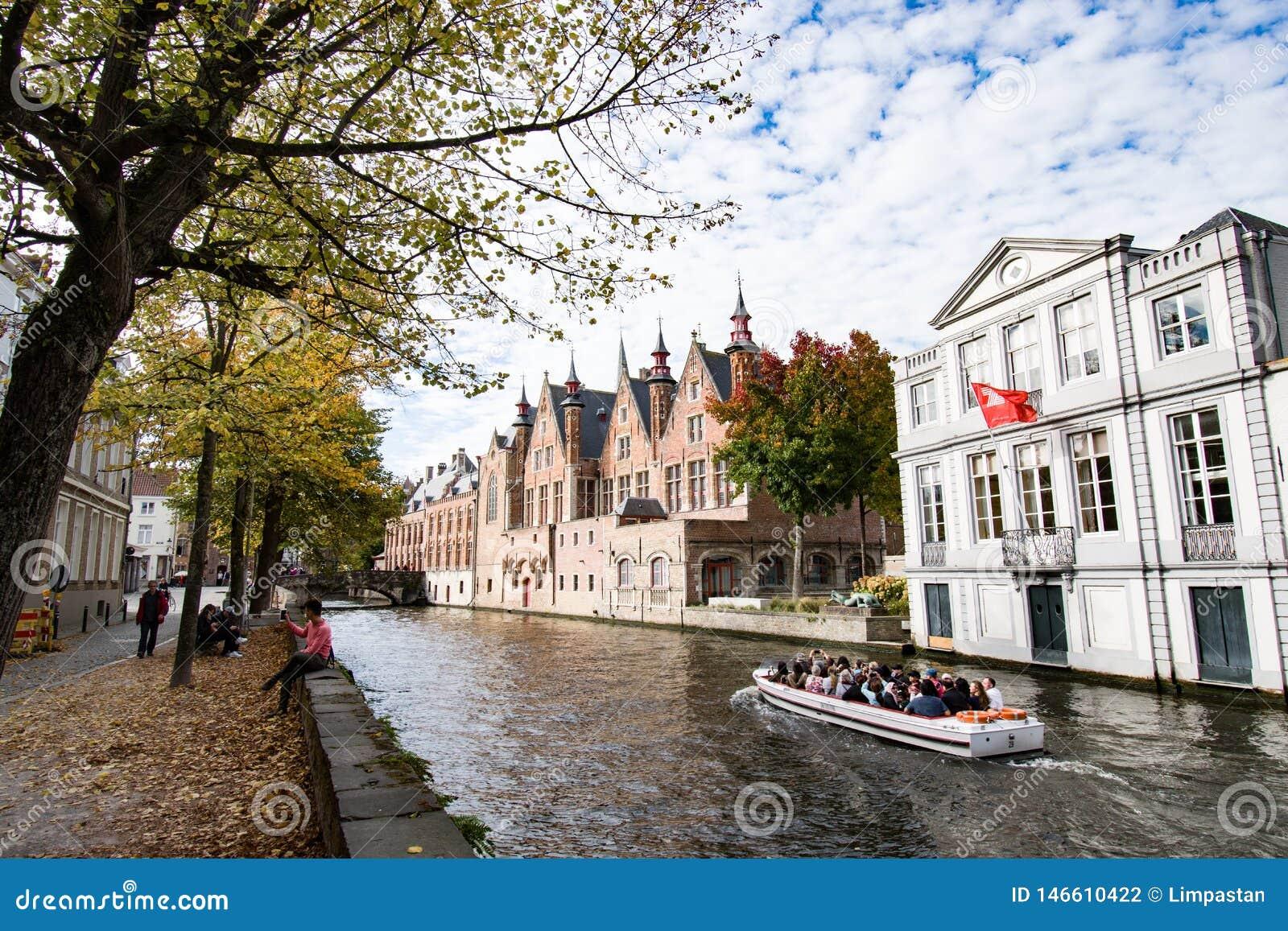 H?rlig h?st i Bruges Belgien