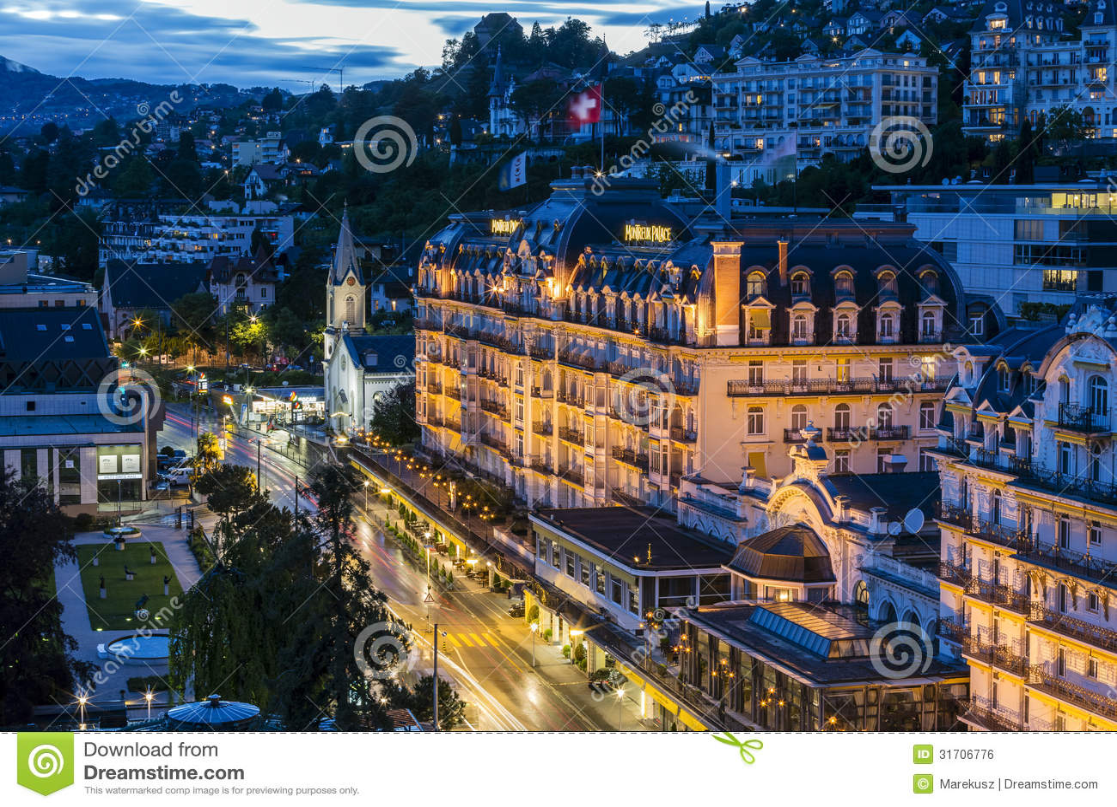 Montreux Palace Hotel