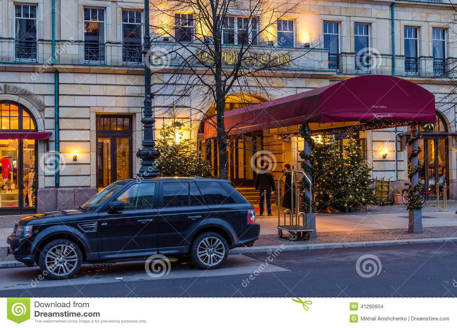 h tel de luxe adlon berlin image stock ditorial image 41280604. Black Bedroom Furniture Sets. Home Design Ideas