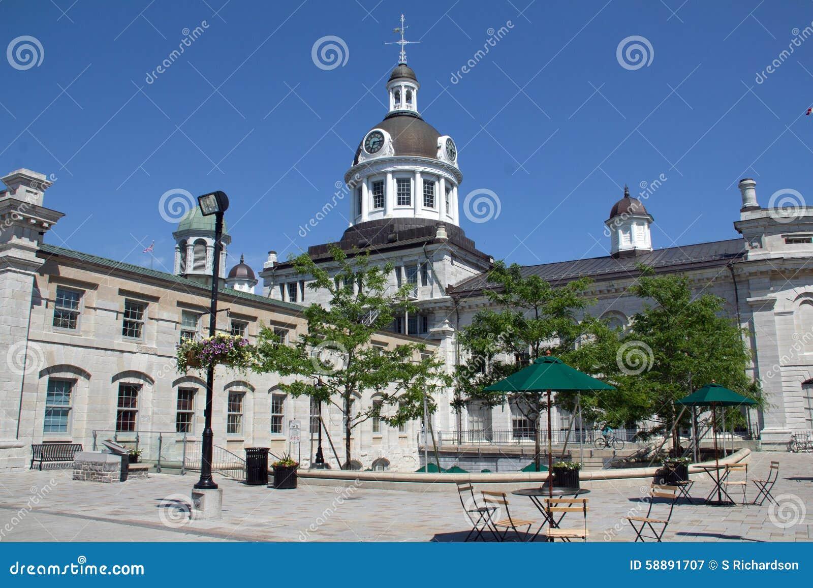 Hôtel de ville et place