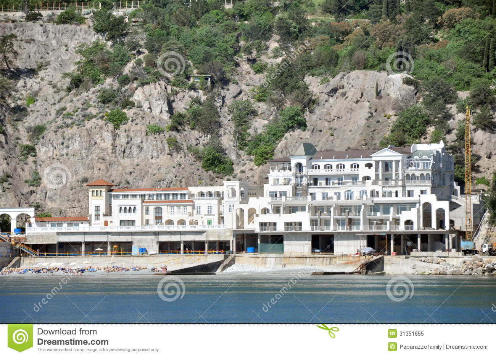 Hôtel par la mer