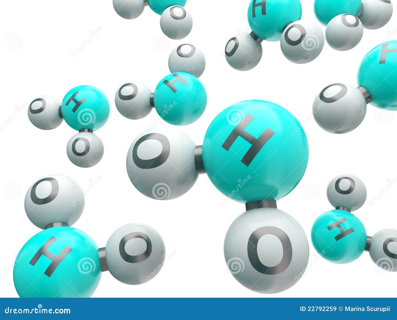 H20 απομονωμένα μόρια