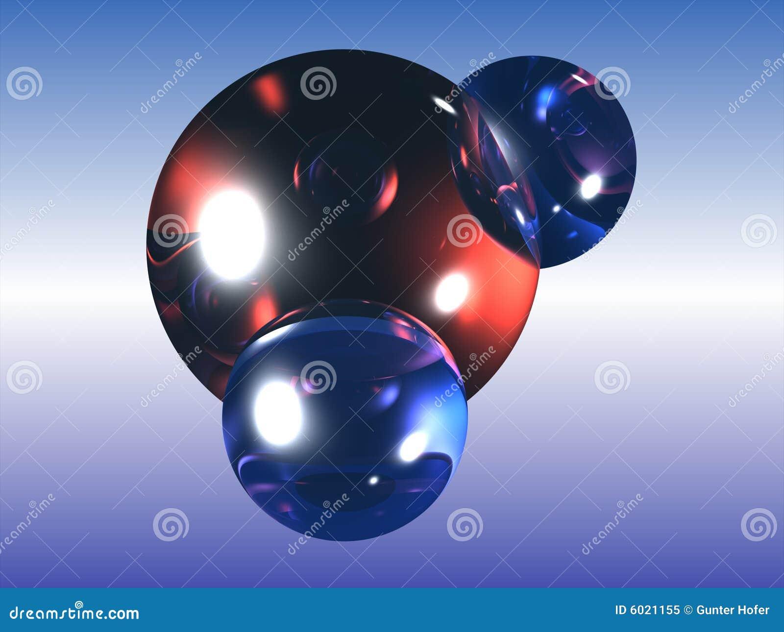 H2O water molecule stock illustration. Image of hydrogen ...
