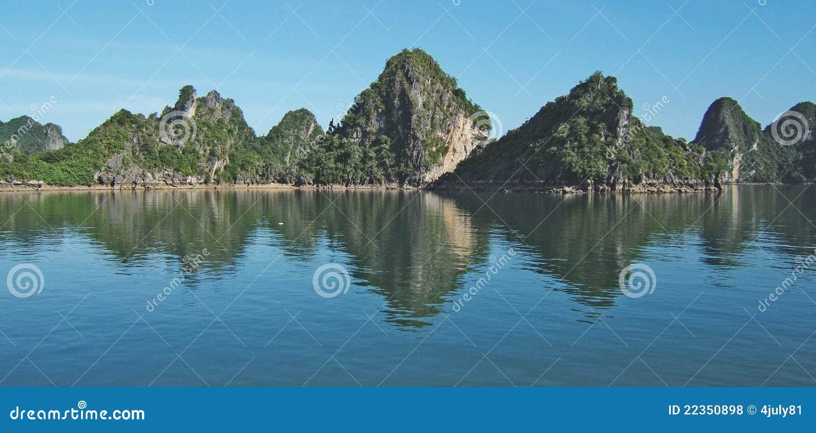 Ha长海湾,越南