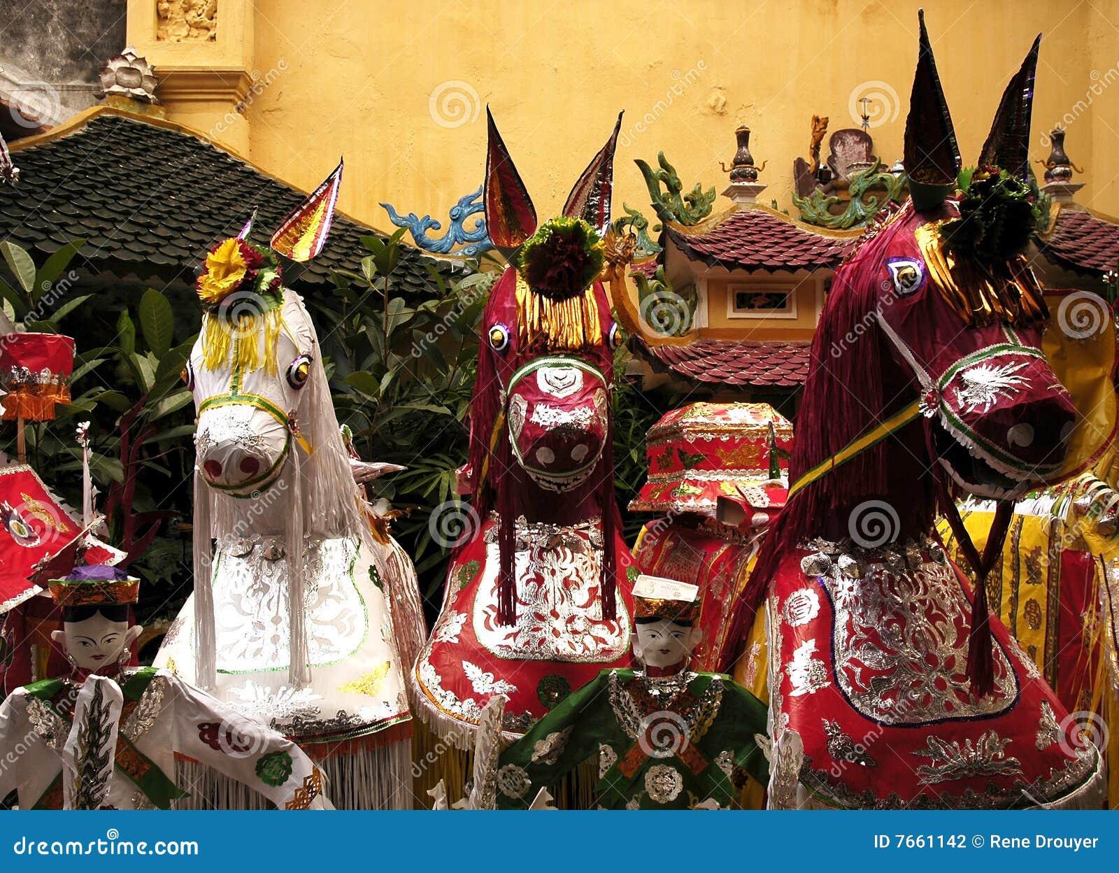 Ha de Hanoï de thanh Vietnam de temple