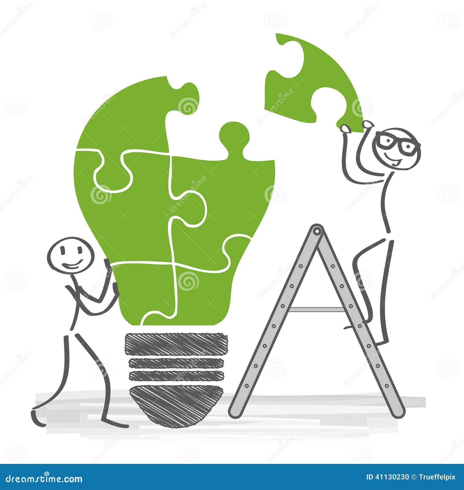 Ha idéer, samarbete