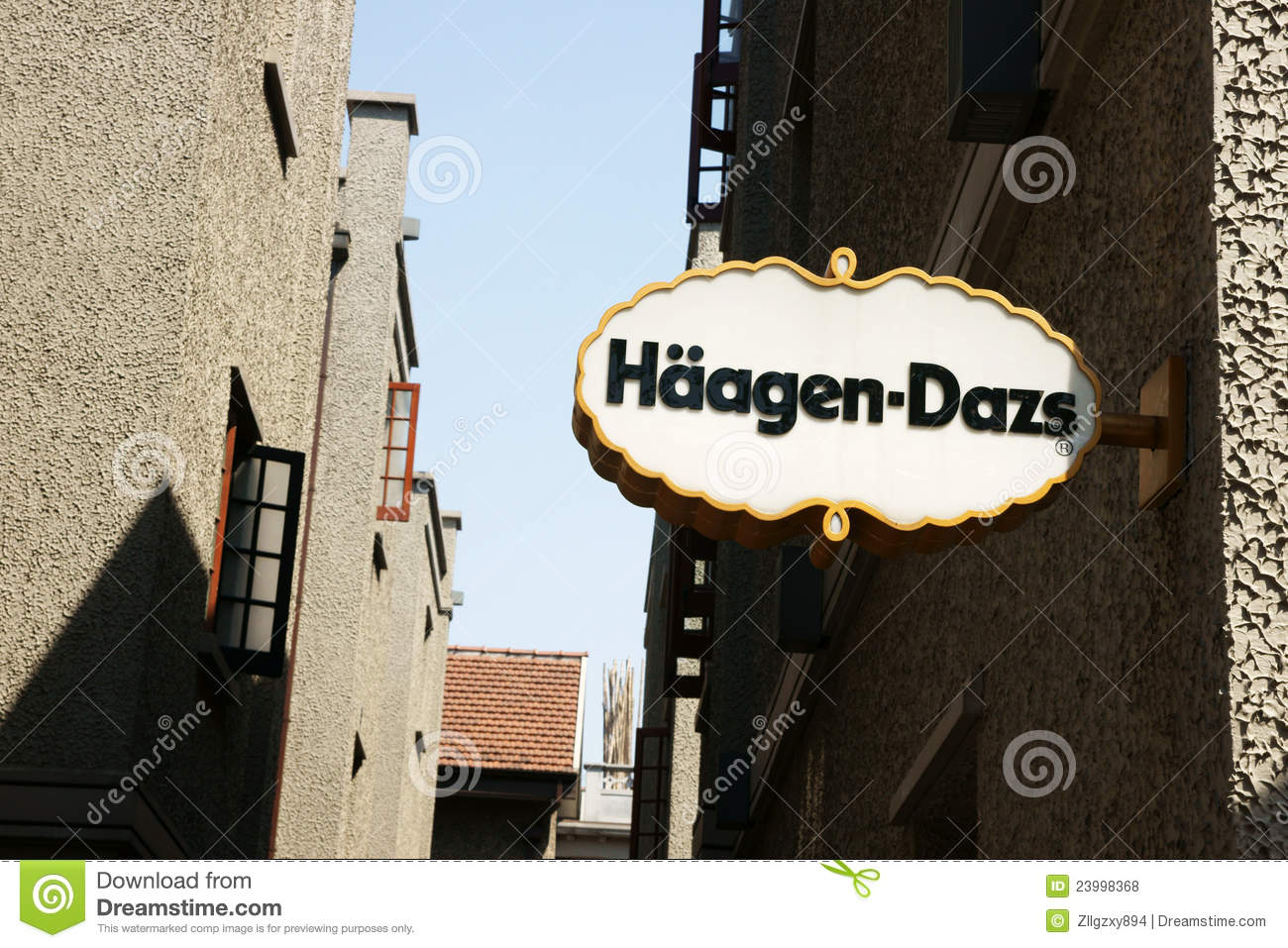 haagendazs logo editorial stock photo image 23998368