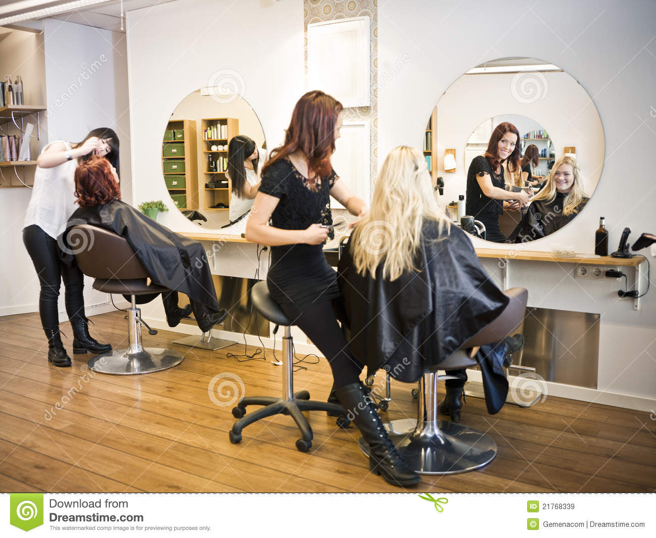 Haarsalonsituation