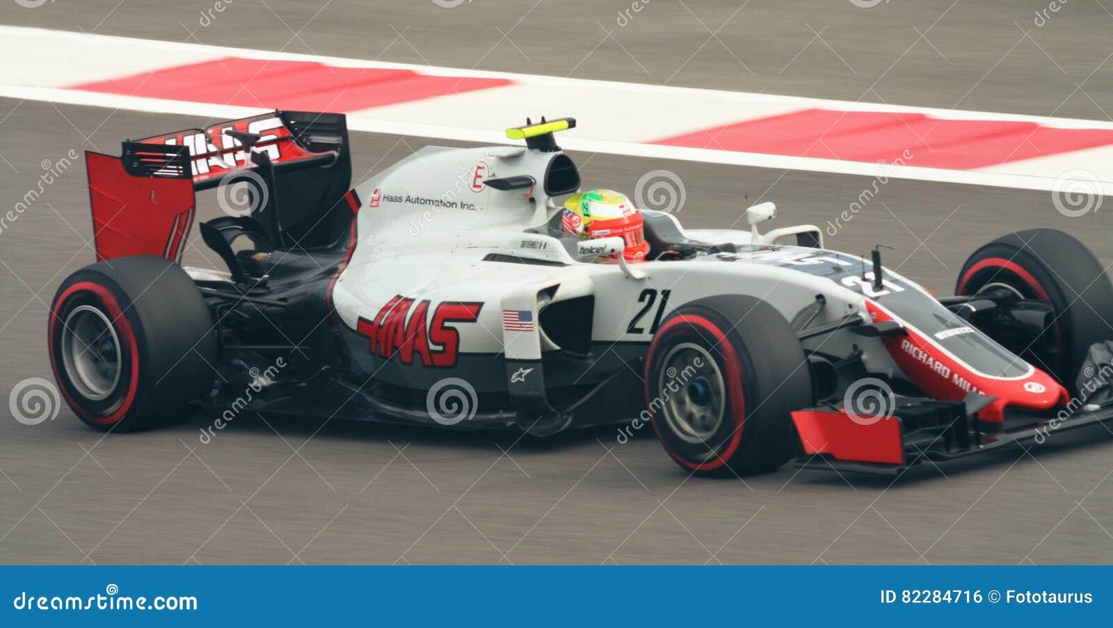 Haas Ferrari Vf 16 Grand Prix F1 2016 Editorial Photo Image Of Champion Adrenaline 82284716