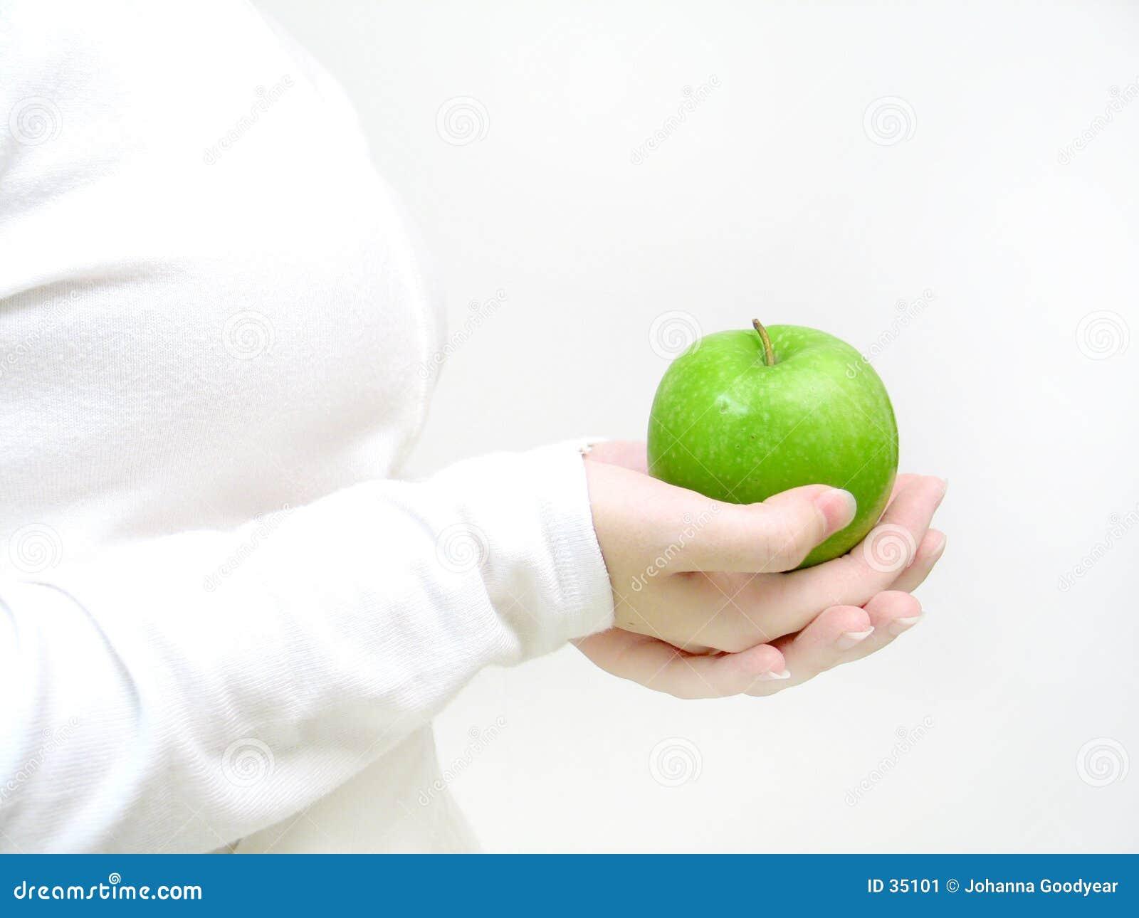 Haben Sie einen Apfel