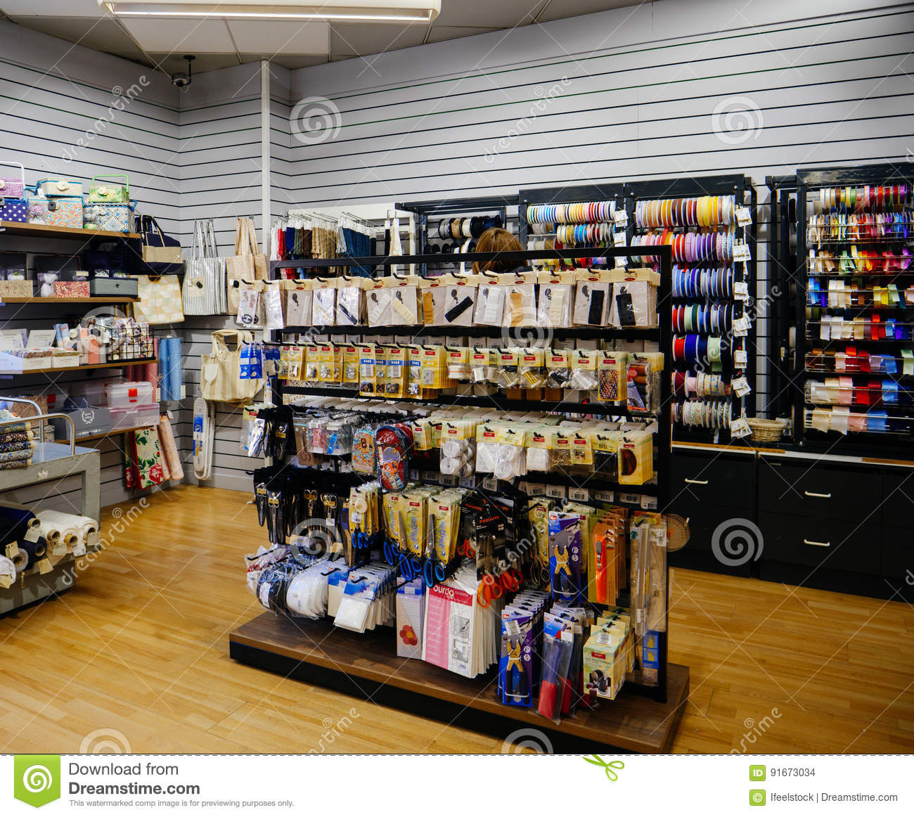 Industry commercial haberdashery textile