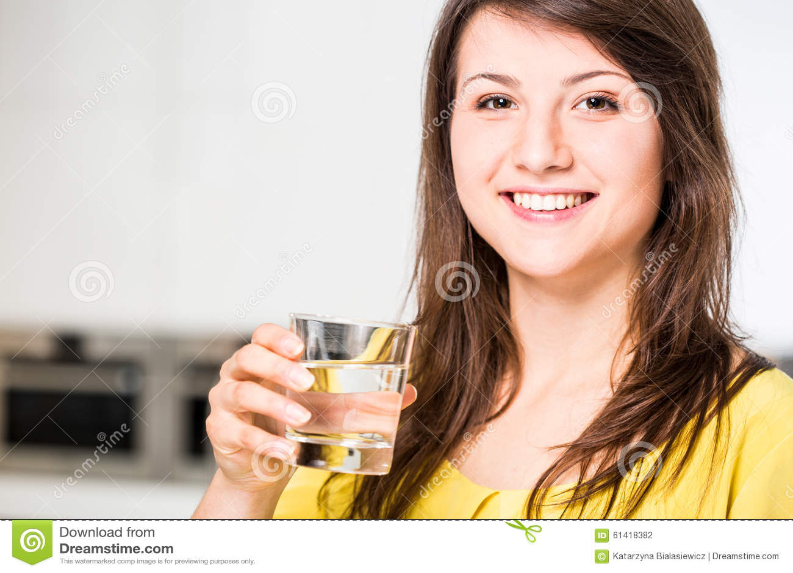 Habit of drinking water
