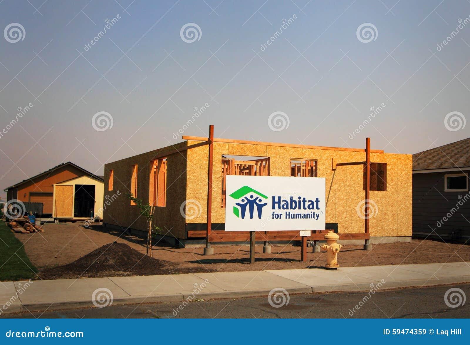 Habitat for humanity construction editorial stock image for Construction habitat